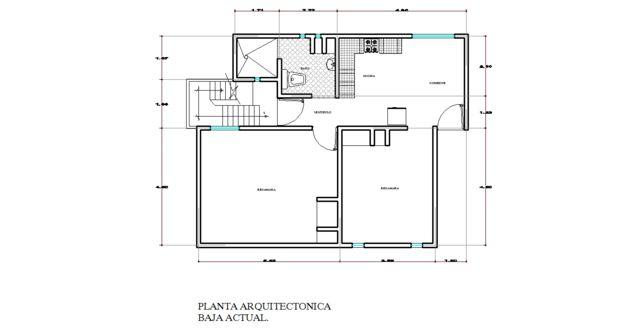 Proyecto 09 ampliacion y remodelacion de casa habitacion for Proyecto casa habitacion minimalista